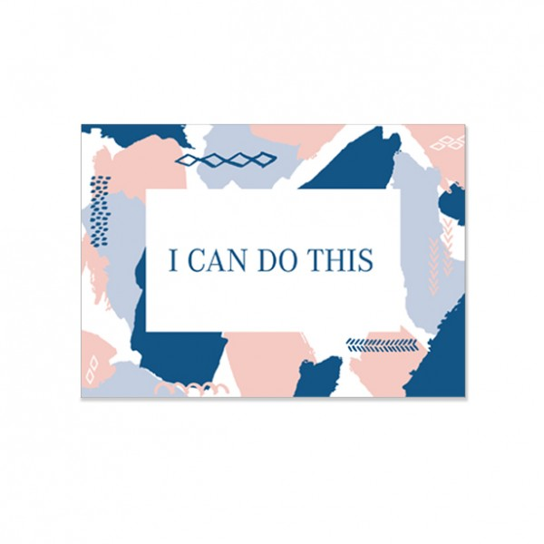 I can do this - Postkarte