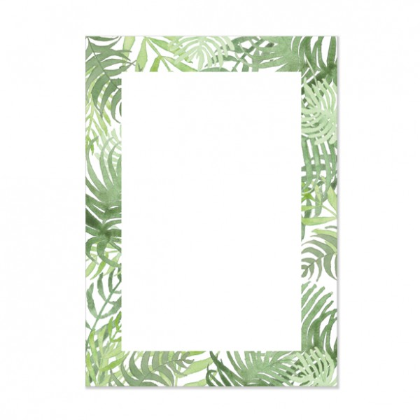 Jungle - Notizblock DIN A6