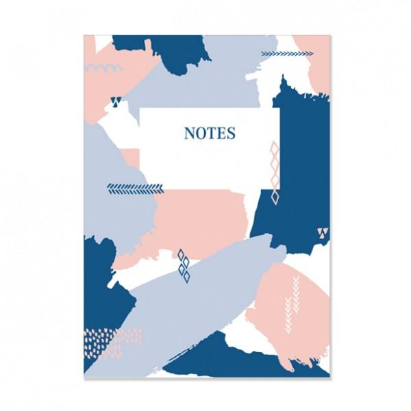 Notes - Notizbuch DIN A5 mit perforierten Innenseiten