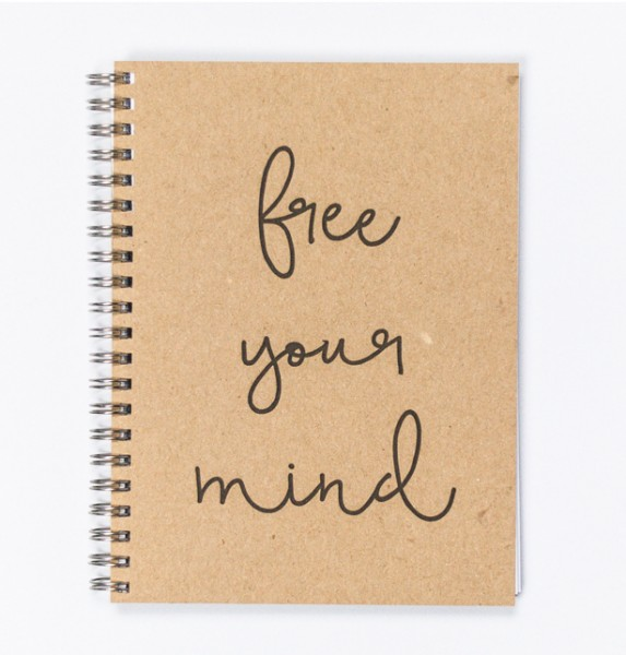 Free your mind - Notizbuch