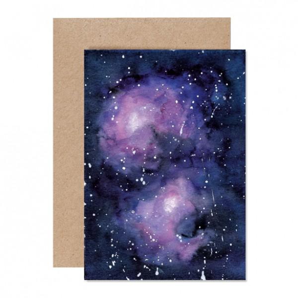 Galaxy – Klappkarte